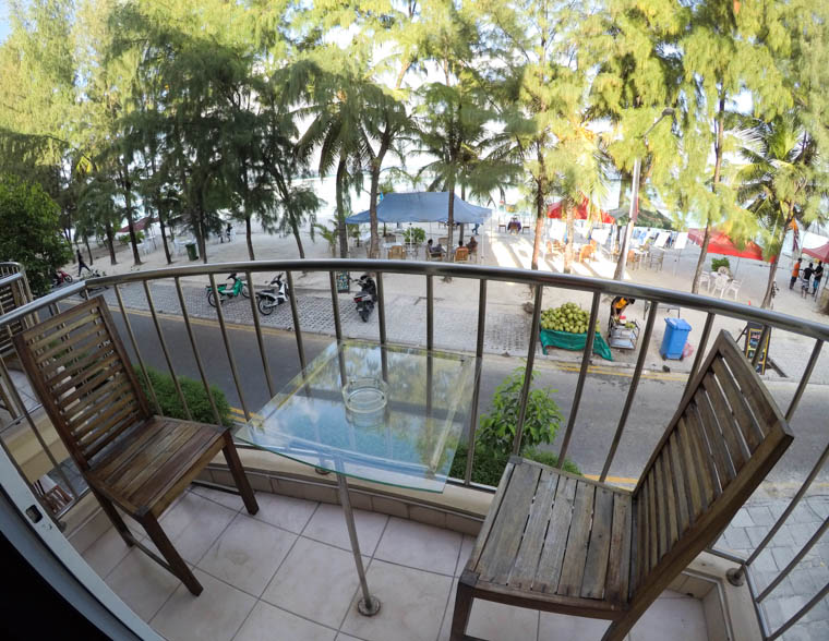 fuana inn balcony view, hulhumale hotel