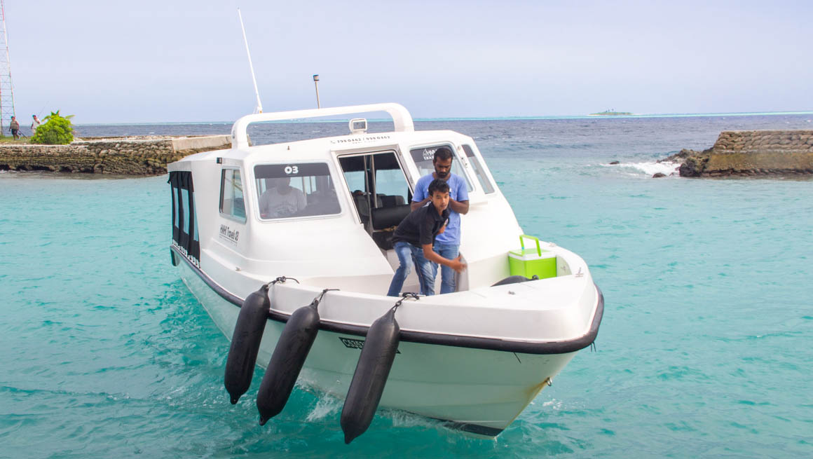 How to Get from Male to Hangnaameedhoo Island, Maldives
