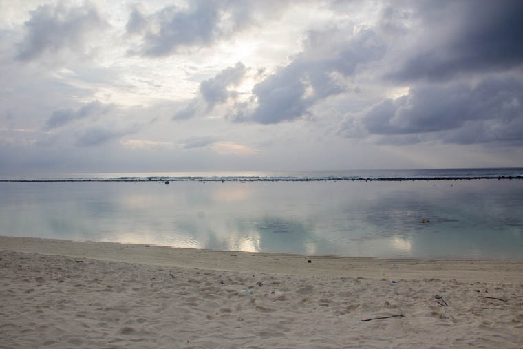 Hulhumale beach