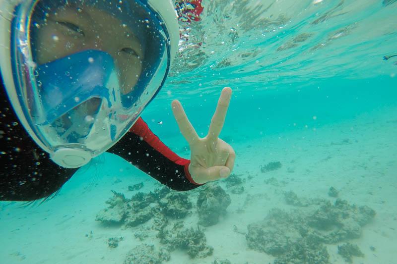 Snorkeling in Hangnaameedhoo