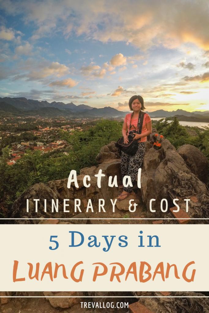 5 days luang prabang itinerary