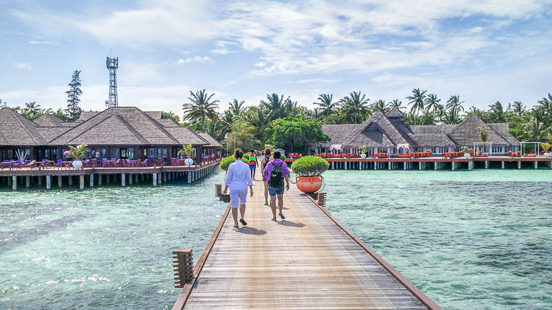 Olhuveli Beach Spa Resort Maldives Jetty