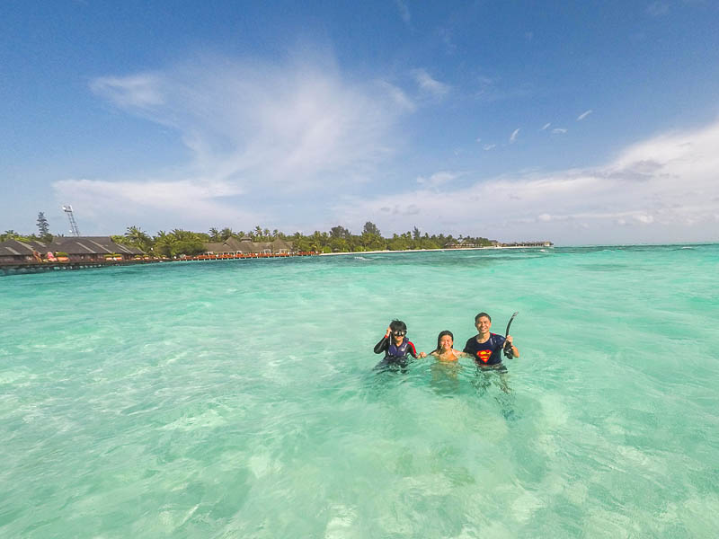 Olhuveli Beach & Spa Resort Maldives - Snorkelling