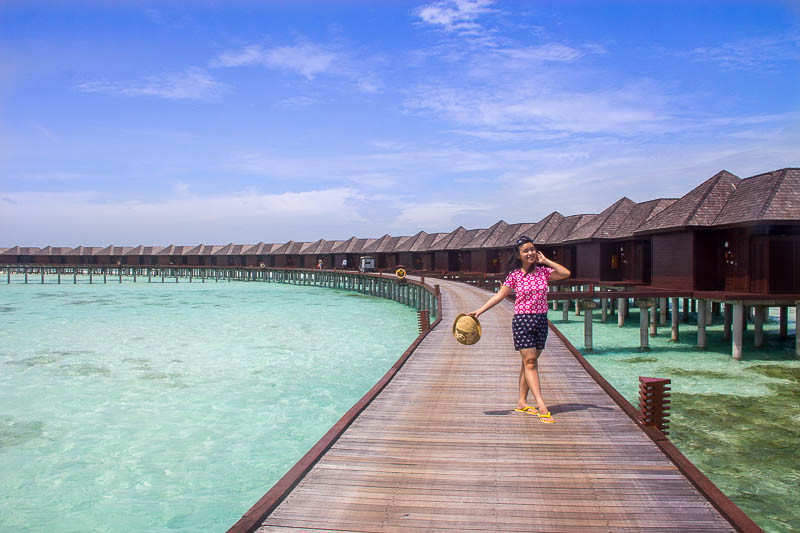 Olhuveli Beach & Spa Resort Maldives - Water Villa