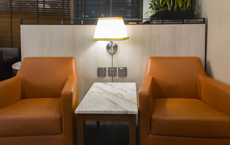 sats premier lounge changi terminal 2 - armchair
