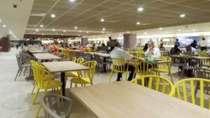Singapore Changi Airport Staff Canteen at Terminal 1