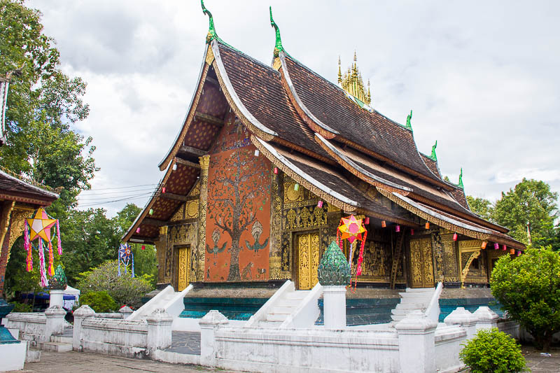 Luang Prabang Things to Do - Wat Xieng Thong Tree of Life