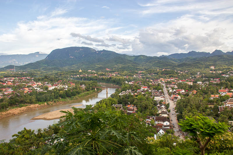 Luang Prabang Things to Do - Sunset Mount Phousi