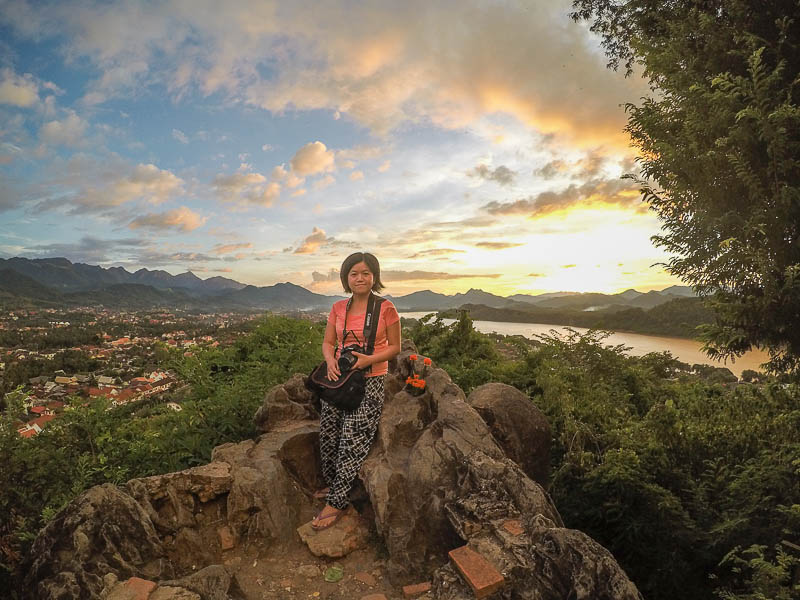 Luang Prabang Things to Do - Sunset Phousi Hill