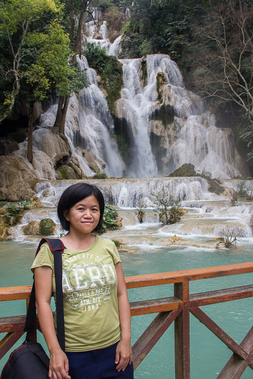 Kuang Si Waterfalls in Luang Prabang