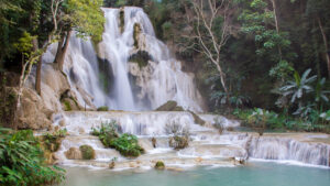 The Stunning Kuang Si Waterfalls in Luang Prabang