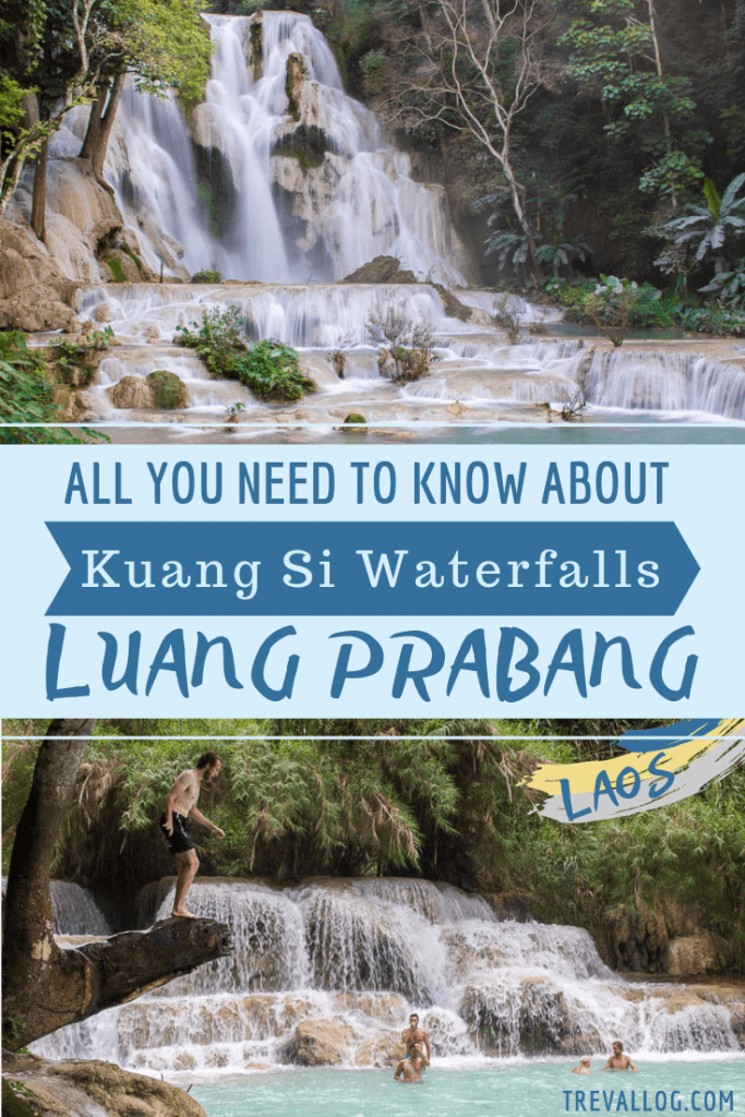 How to visit Kuang Si Waterfalls