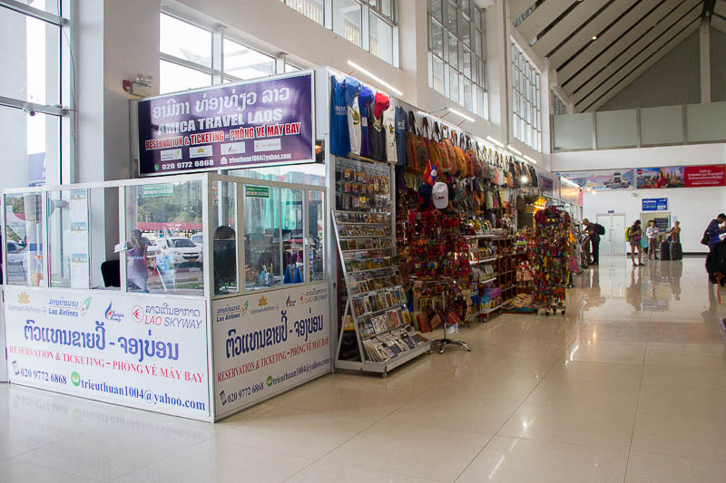 Luang Prabang International Airport - souvenir