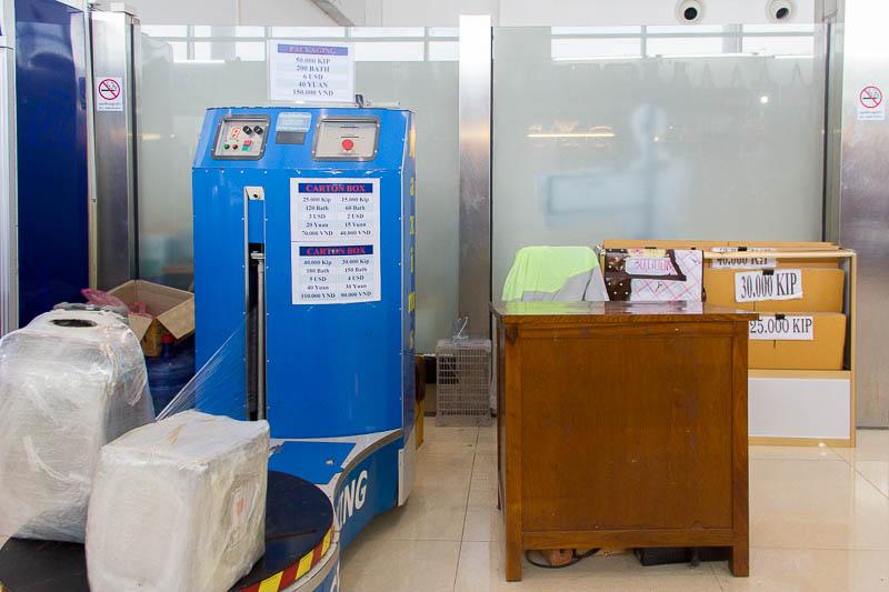 Luang Prabang International Airport - wrapping service