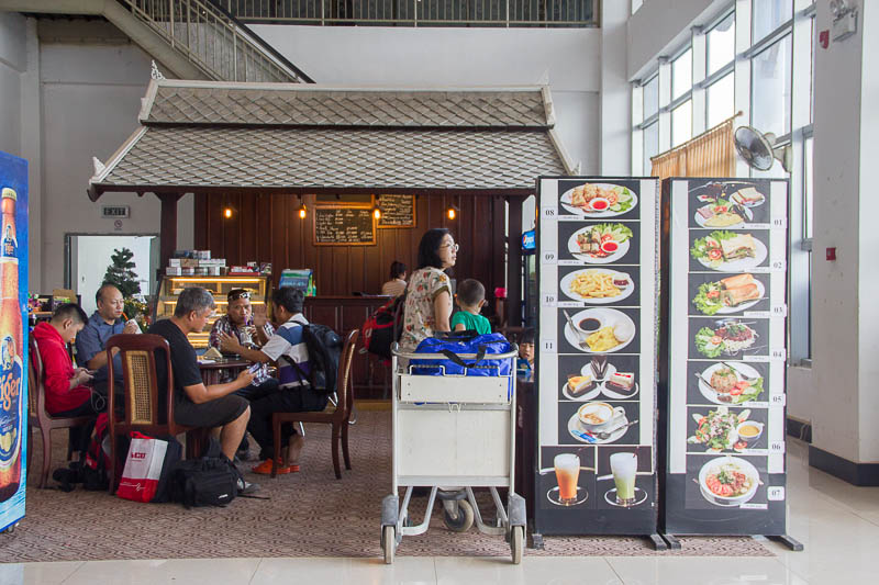 Luang Prabang International Airport - Food