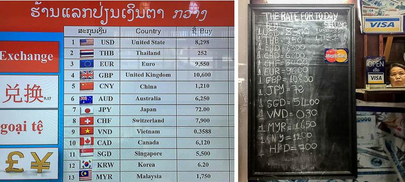 Luang Prabang International Airport - Money Exchange