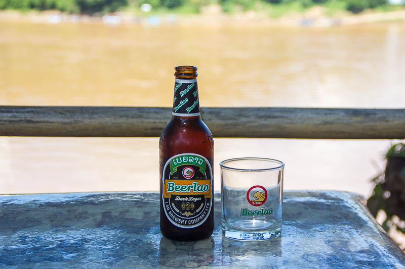Luang Prabang Food - Lao Beer