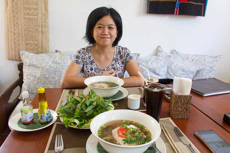Luang Prabang Food - Le Cafe Ban Vat Sene