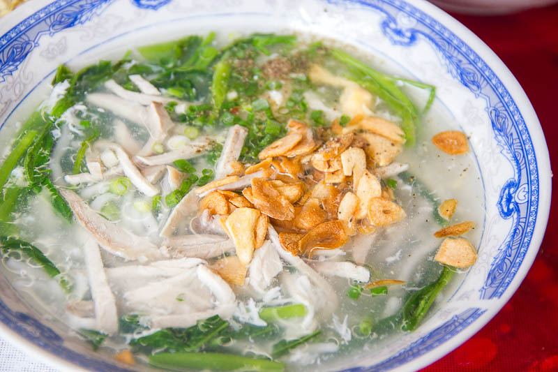Luang Prabang Food - Noodle soup at Xieng Thong Noodle