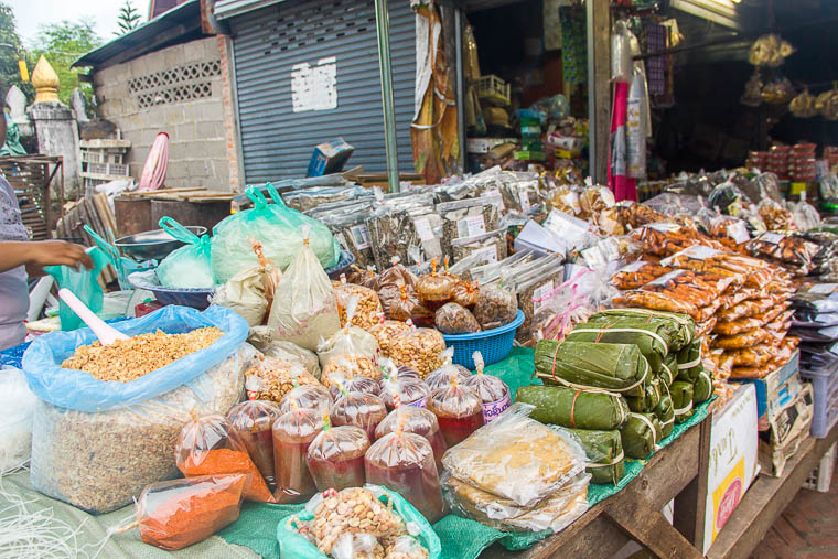Luang Prabang Morning Market - food