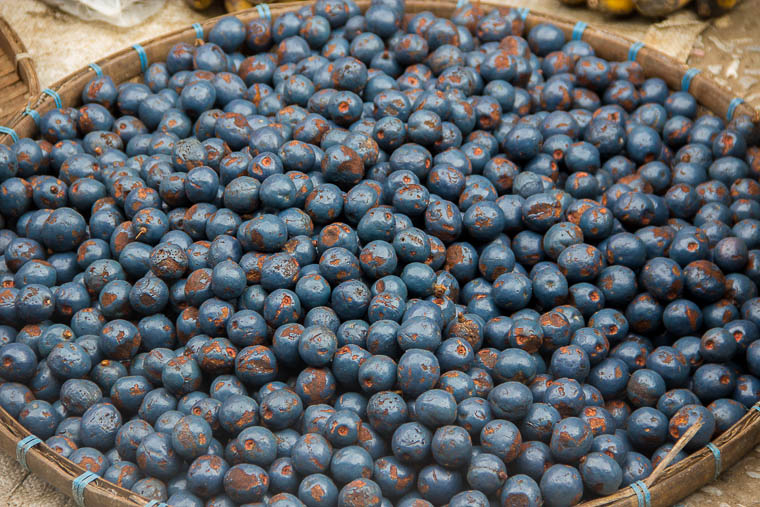 Luang Prabang Morning Market - berries