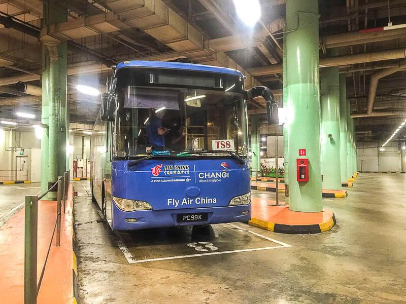 Bus TS8 from resort world sentosa singapore to johor bahru
