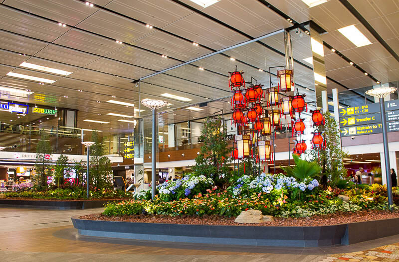 Things to Do in Changi Airport, Singapore - Terminal 1, Piazza Garden
