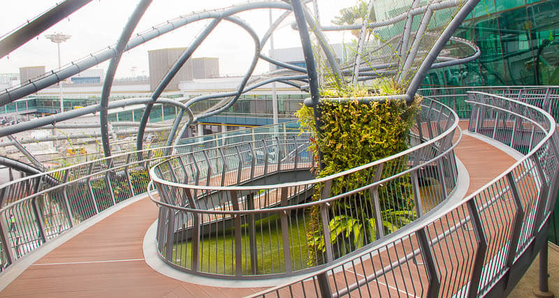 Things to Do in Changi Airport, Singapore - Terminal 1, Scuptural Garden Garden