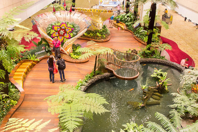Things to Do in Changi Airport, Singapore - Terminal 2, Enchanted Garden