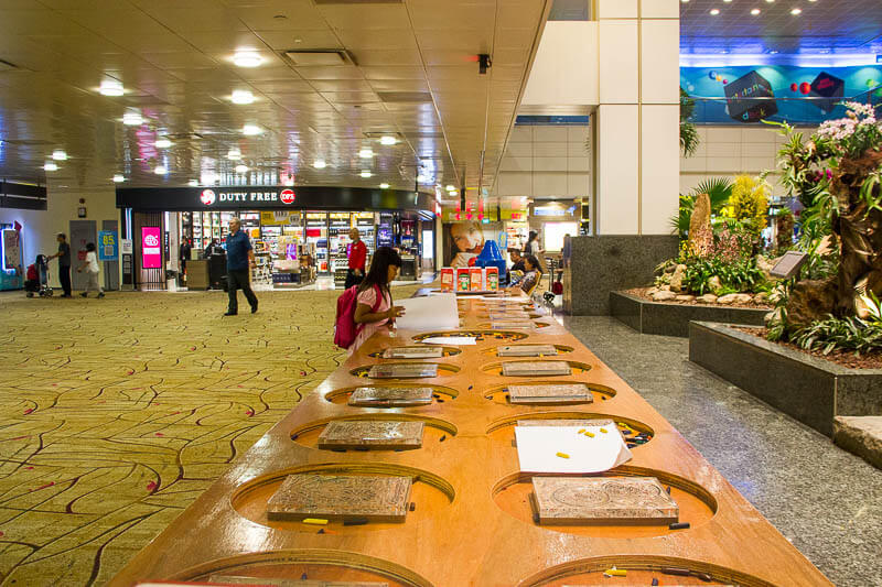 Things to Do in Changi Airport, Singapore - Terminal 2, Interactive Art