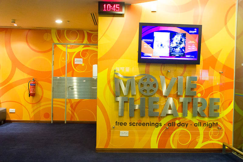 Things to Do in Changi Airport, Singapore - Terminal 3, Movie Theatre