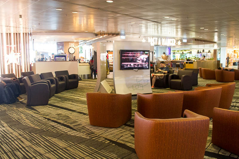 Things to Do in Changi Airport, Singapore - Terminal 3, TV Lounge