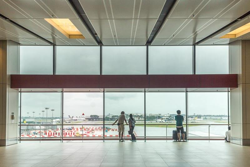 Things to do in Changi Airport Singapore Terminal 1 - Viewing Gallery Mall Public Area