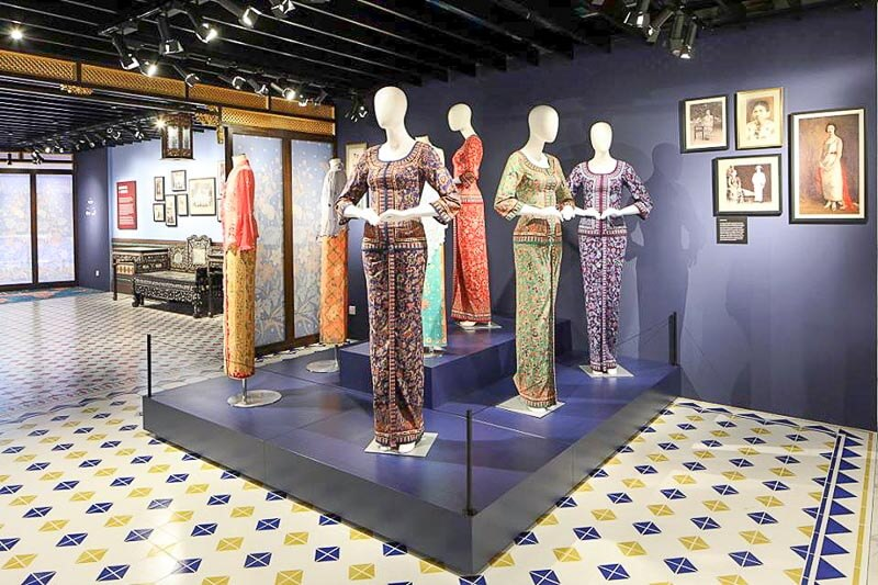 Things to do in Changi Airport Singapore Terminal 4 - Peranakan Gallery