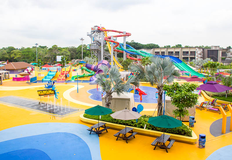 Wild Wild Wet Waterpark Singapore - Splash Play