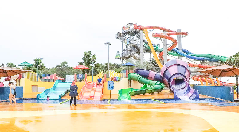 Wild Wild Wet Waterpark Singapore - Kids Zone