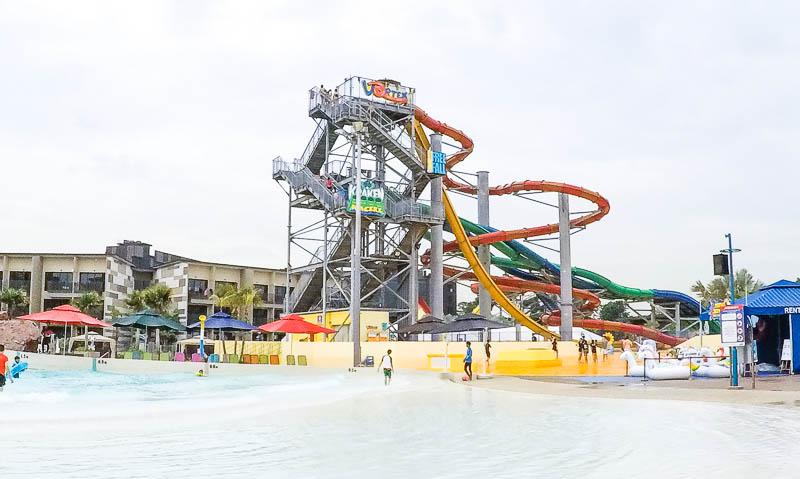 Wild Wild Wet Waterpark Singapore - vortex