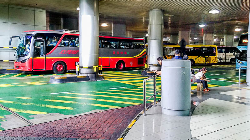 Bus SJE, CW from johor bahru checkpoint to larkin terminal or other part of JB