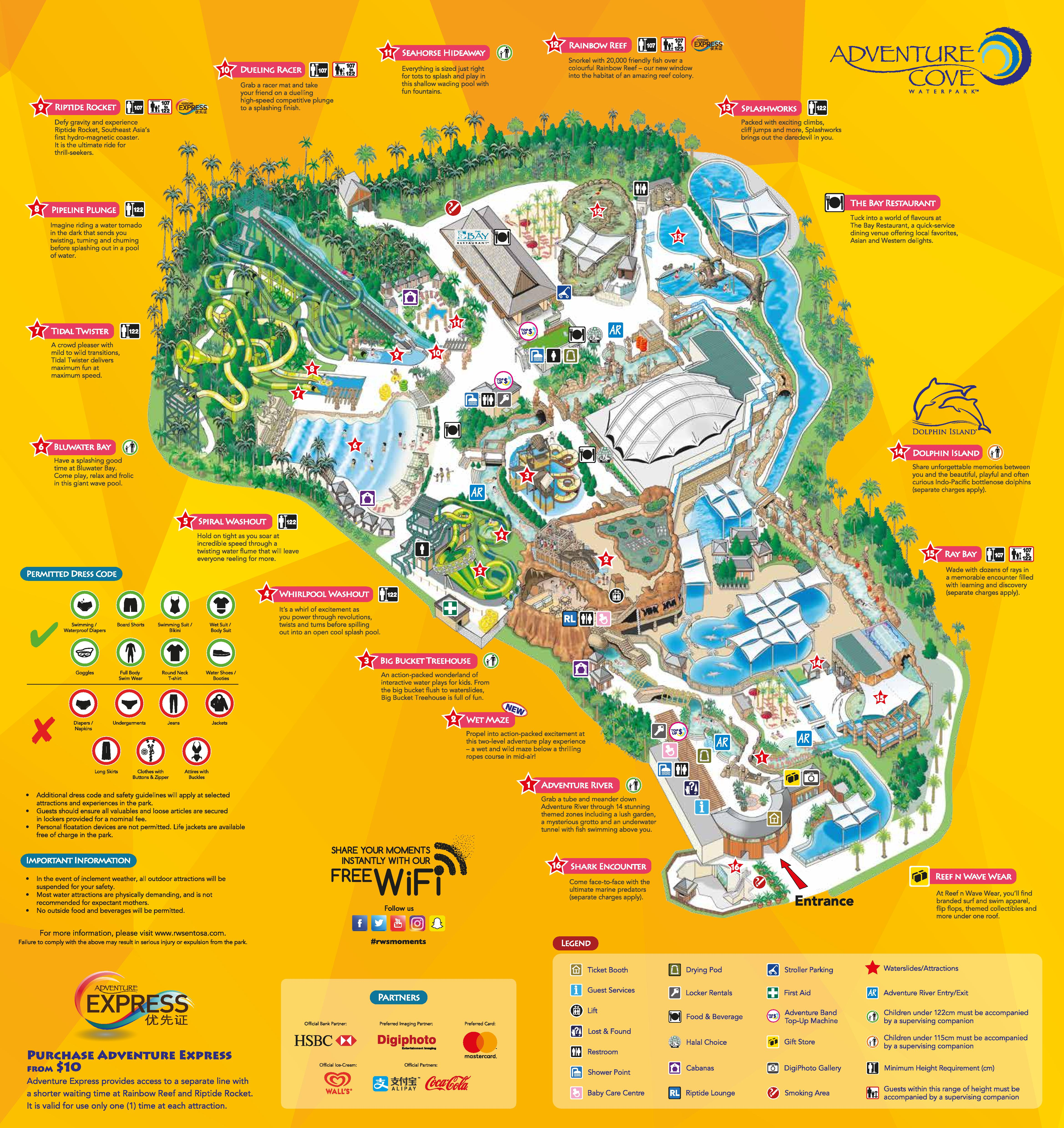 Maximise Your Visit To Adventure Cove Waterpark Singapore