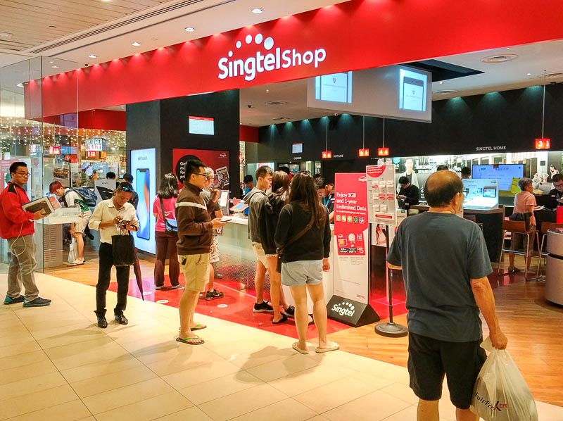 Best Prepaid SIM Card in Singapore for Travellers and Tourists-Singtel