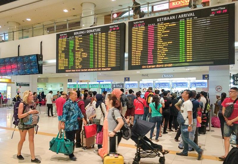 Bandar Tasik Selatan in Kuala Lumpur Malaysia