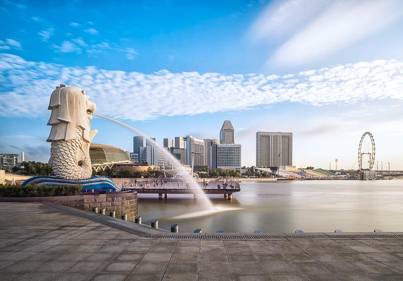 Places in Singapore You Can Visit for Free - Merlion
