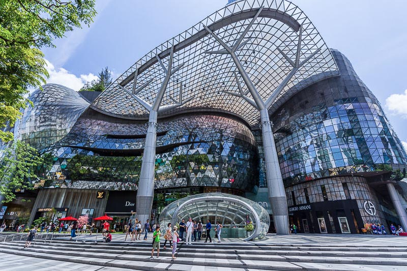Weekend Itinerary for Budget Travellers in Singapore - ion orchard road