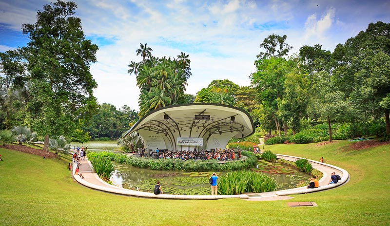 Weekend Itinerary for Budget Travellers in Singapore - botanic gardens