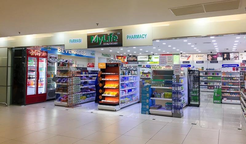Penang International Airport: pharmacy
