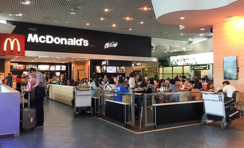Penang International Airport: McDonald's