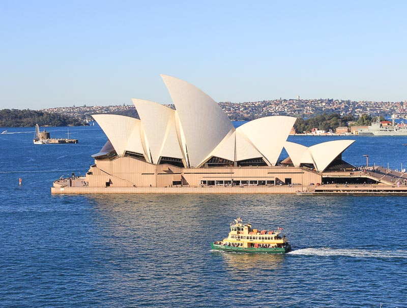 Sydney Harbour, Opera House, Harbour Bridge