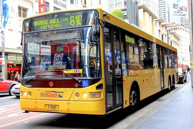 Sydney hillbus