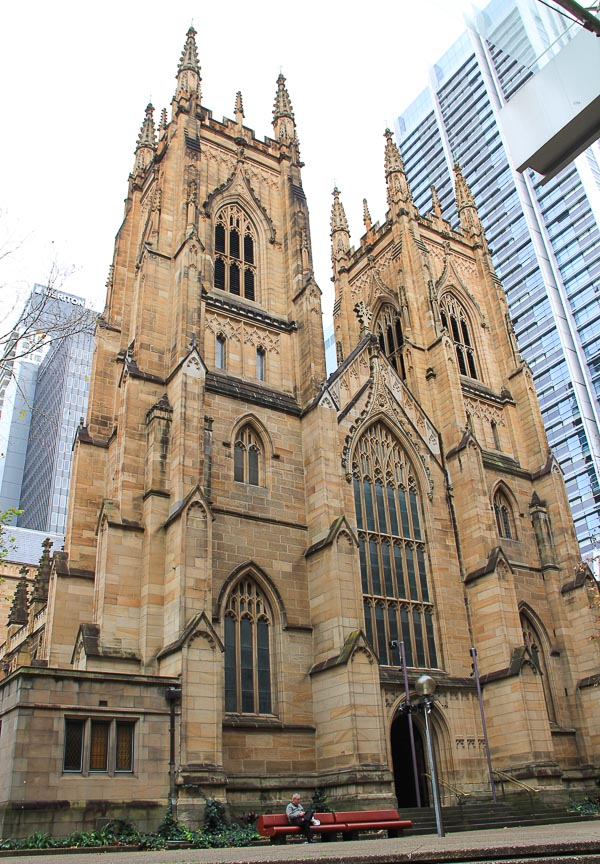 St Andrew's Cathedral in Sydney