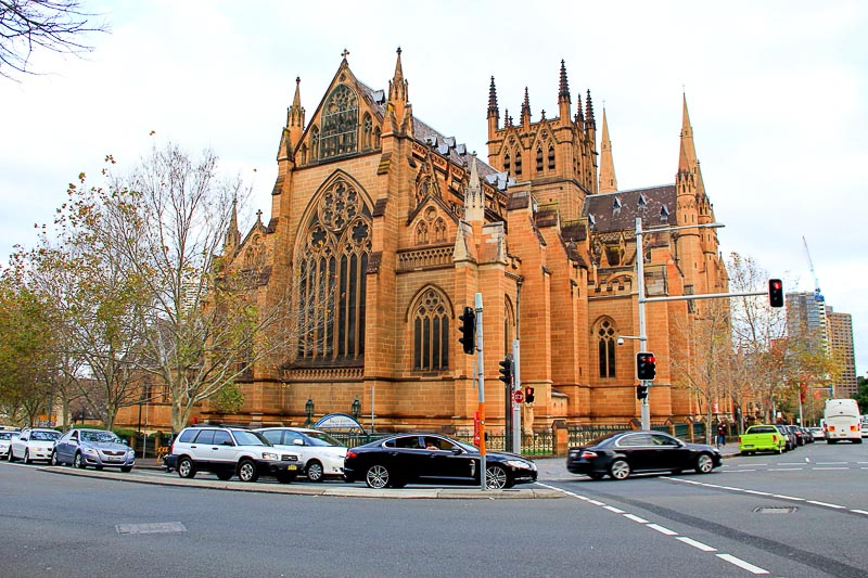 St Mary's Cathedral in Sydney